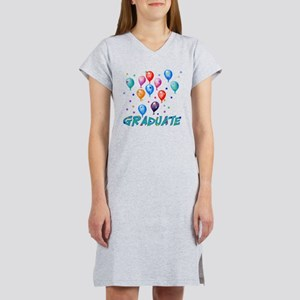 Graduation Balloons Women's Nightshirt
